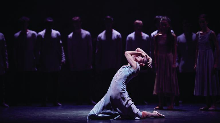 English National Ballet. Alina Cojocaru in Akram Khan's Giselle © Laurent Liotardo