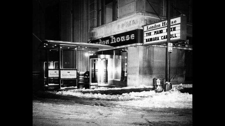 London House, considered one of the foremost jazz clubs in the country, was open from 1946 through the early '70s. (Courtesy Neal Samors)