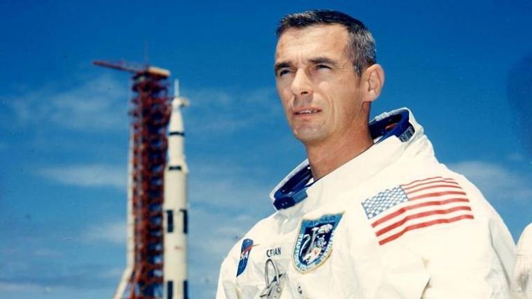 Eugene Cernan (NASA / Facebook)