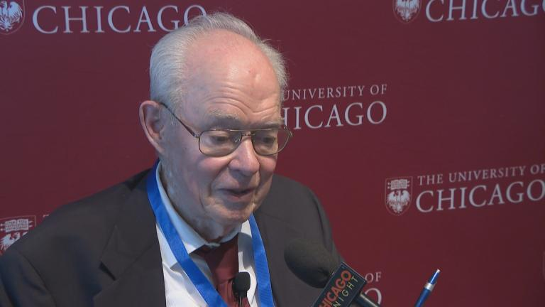 Retired University of Chicago astrophysicist Eugene Parker speaks with Chicago Tonight on Tuesday, July 31, 2018.