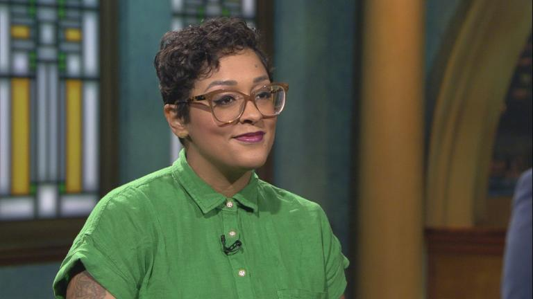 "Eve Ewing appears on ""Chicago Tonight."""
