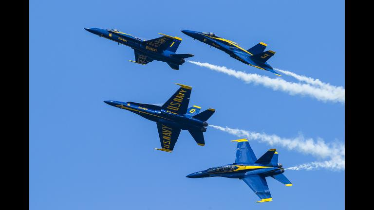 Chicago Air and Water Show 2015 (Scott L / Flickr)