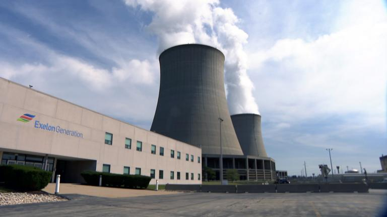 At full power, Byron's nuclear plant is pumping out enough energy to power some 2 million northern Illinois homes. (WTTW News)