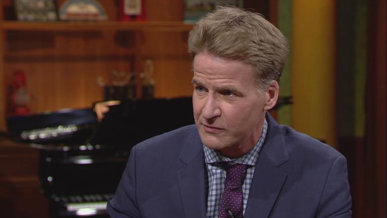 """Zachary Fardon appears on """"Chicago Tonight"""" on March 23, 2017."""