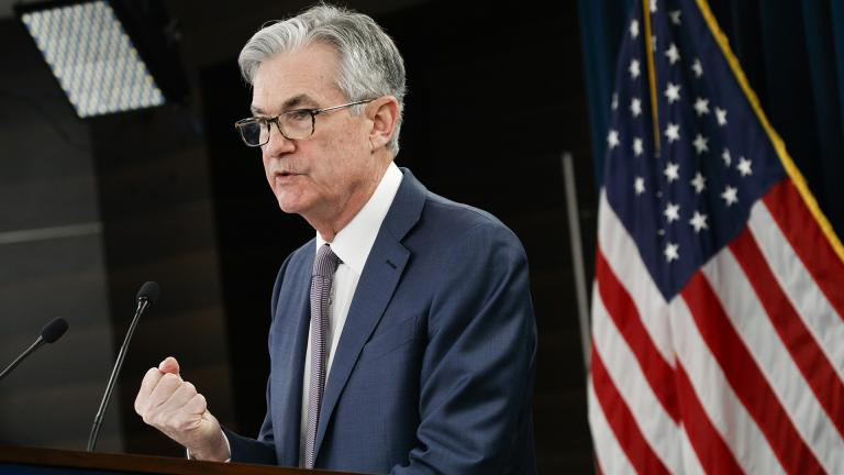 In this March 3, 2020 file photo Federal Reserve Chair Jerome Powell speaks during a news conference in Washington. (AP Photo / Jacquelyn Martin, file)