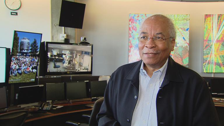 Herman White has been working at Fermilab for more than 40 years.