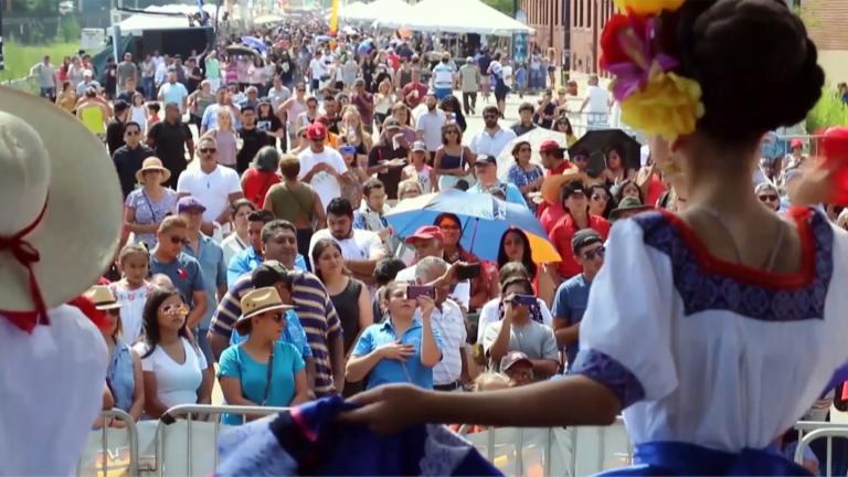 Footage taken from the stage at a previous Fiesta del Sol (Courtesy of Fiesta del Sol)