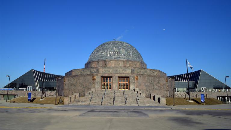 The Adler Planetarium is one of three Chicago museums offering free admission to CPS students on Aug. 29. (Craig Stillwell / Wikimedia Commons)