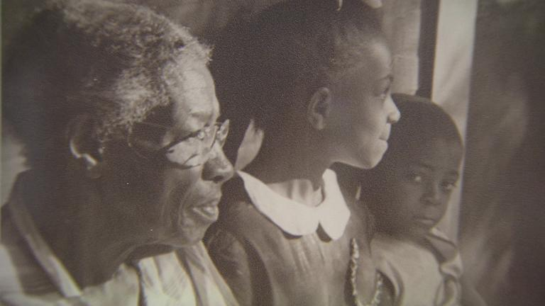 """Images like this one from Helen Balfour Morrison comprise the exhibition """"Photographing Freetowns."""""""