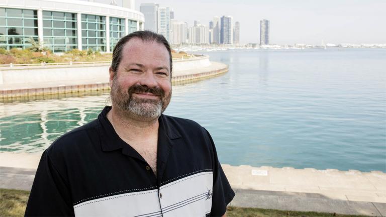 Dr. Andrew Casper, Shedd Aquarium's new director of freshwater research (Courtesy © Shedd Aquarium)