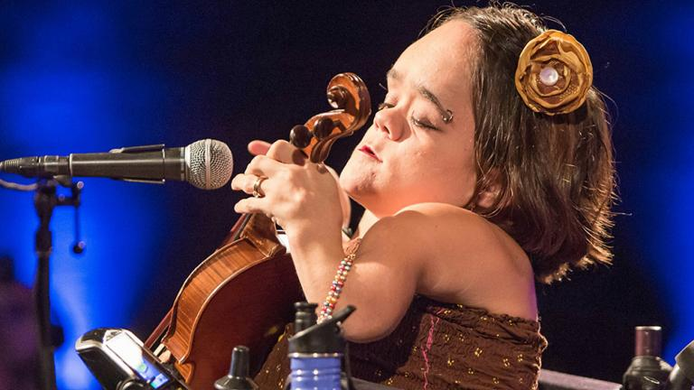 Winning NPR's Tiny Desk Contest catapulted musician Gaelynn Lea into the international spotlight. (Courtesy of Gaelynn Lea)