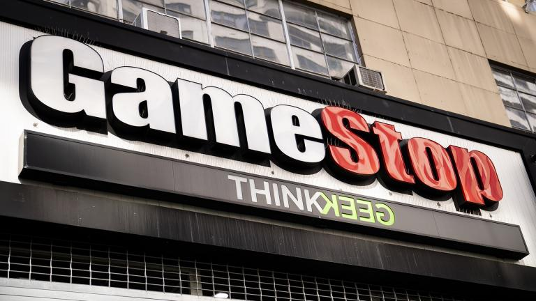A GameStop store on 14th Street at Union Square, Thursday, Jan. 28, 2021, in the Manhattan borough of New York. (AP Photo / John Minchillo)