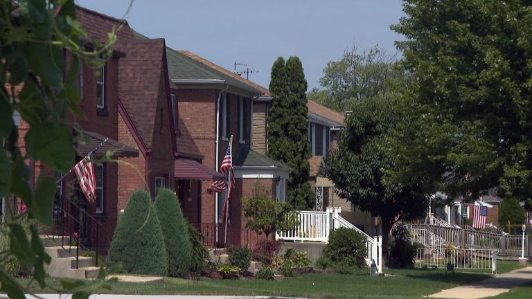On Chicago's Southwest Side, Garfield Ridge is home to Midway Airport. It has a significant first responder population and many senior citizens. (WTTW News)