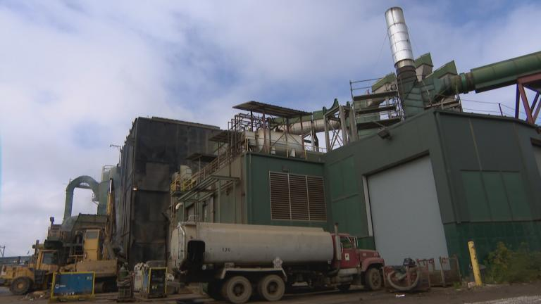 General Iron Industries is a scrap metal recycling company that has operated along the north branch of the Chicago River near Cortland Street and Clybourn Avenue. (WTTW News)