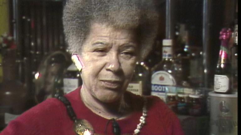 "Gerri Oliver appears in ""Precious Memories"" in 1987. (WTTW News)"