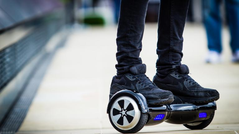 The Illinois Attorney General's office is warning parents that hoverboards can overheat and catch fire in the recently released 2016 Safe Shopping Guide.  (Urbanwheel.co / Flickr)