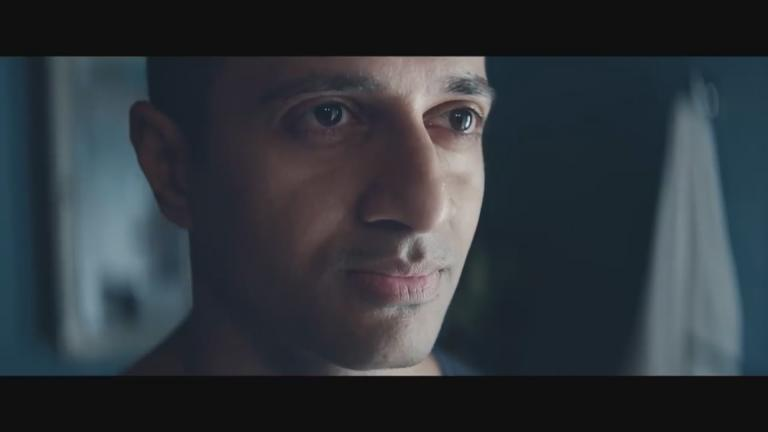 "A still image from the Gillette commercial, ""We Believe: The Best Men Can Be."""