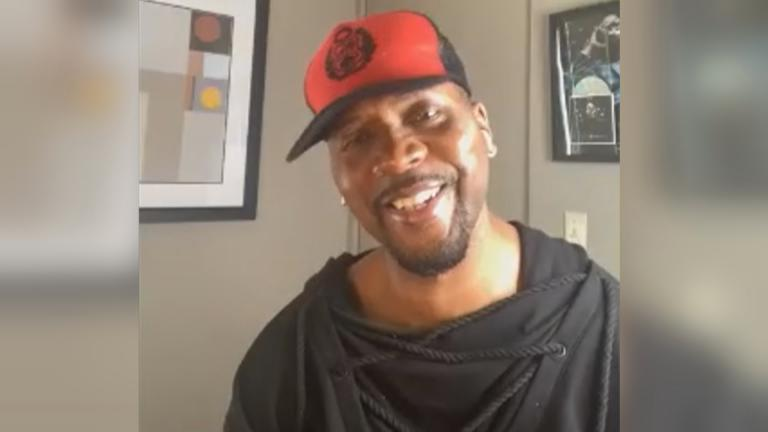"Chicago gospel singer-songwriter Donald Lawrence speaks with ""Chicago Tonight"" via videoconference. (WTTW News)"