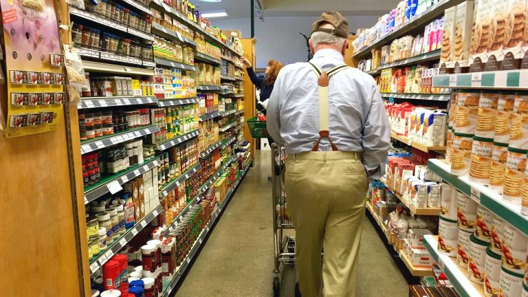 Grocers are setting aside shopping hours for seniors, to protect them from COVID-19. (Lynn Friedman / Flickr)