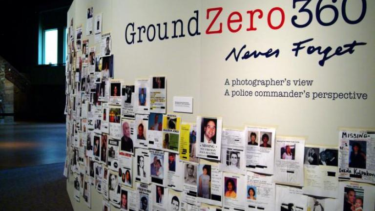 Ground Zero 360. Image Credit: Nicola McClean