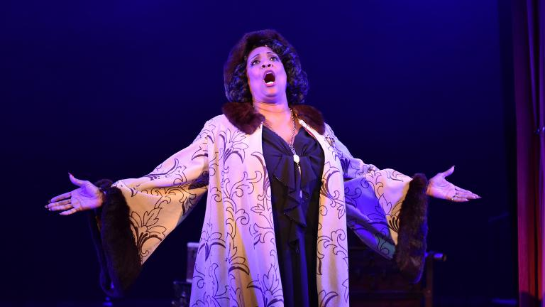 """E. Faye Butler as Rose in """"Gypsy"""" from Porchlight Music Theatre. (Photo by Michael Courier)"""
