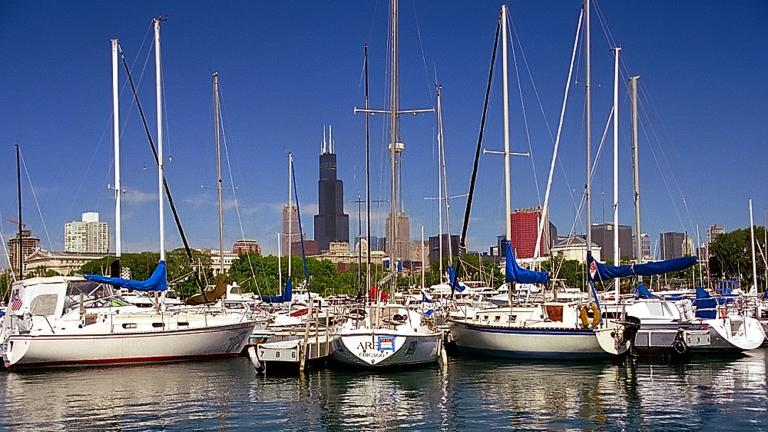 Chicago's Burnham Harbor (David Ohmer / Flickr)