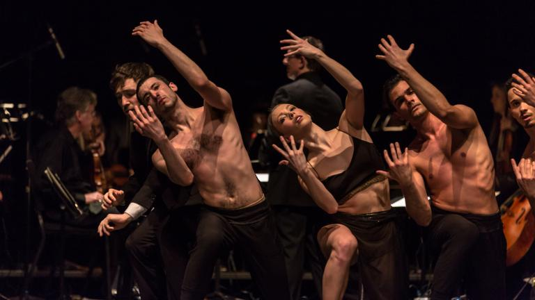 """Visceral Dance Chicago performs Nick Pupillo's """"The Dream."""" (Photo by Quinn Wharton)"""