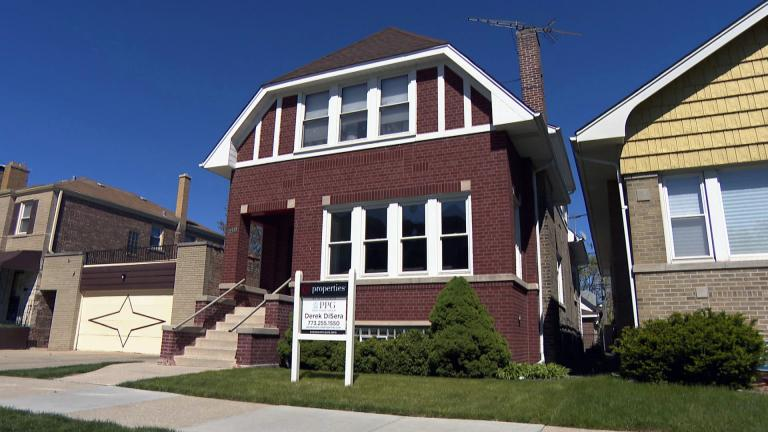 Home sales were up almost 25% in March 2021 compared to March 2020, according to data from the trade group Illinois Realtors. (WTTW News)