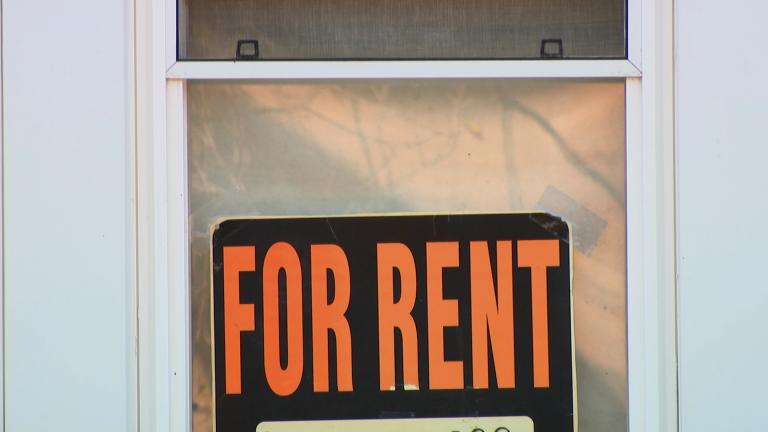 Renters are finding fewer affordable homes and apartments as the city sees a decline in units. (WTTW News)