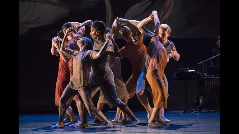 "Hubbard Street Dance Chicago in ""For All Its Fury."" (Photo by Todd Rosenberg)"