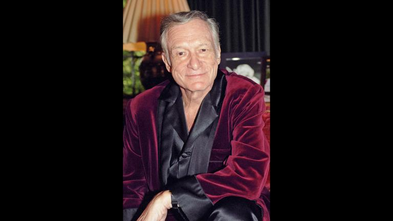 Hugh Hefner (Elayne Lodge / Playboy)