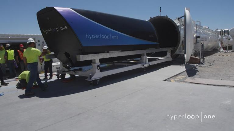 (Courtesy of Hyperloop One)