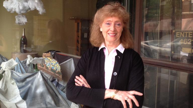 Louise Rohr of Fine Wine Brokers (Rebecca Palmore / Chicago Tonight)