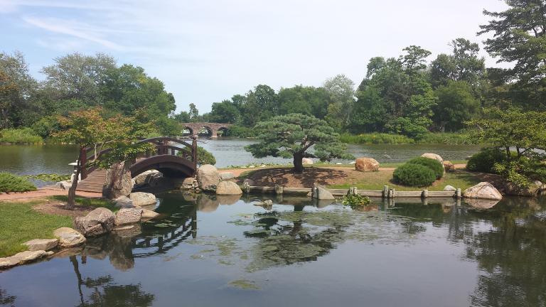 Japanese garden in Jackson Park (Steven Kevil / Creative Commons)
