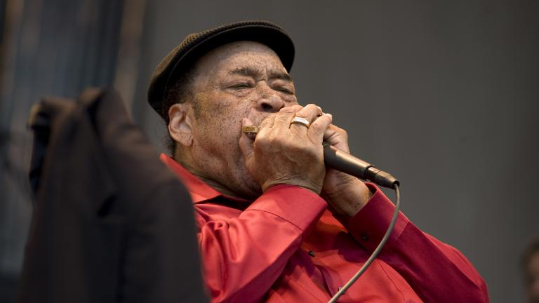 James Cotton; courtesy of the Chicago Blues Festival