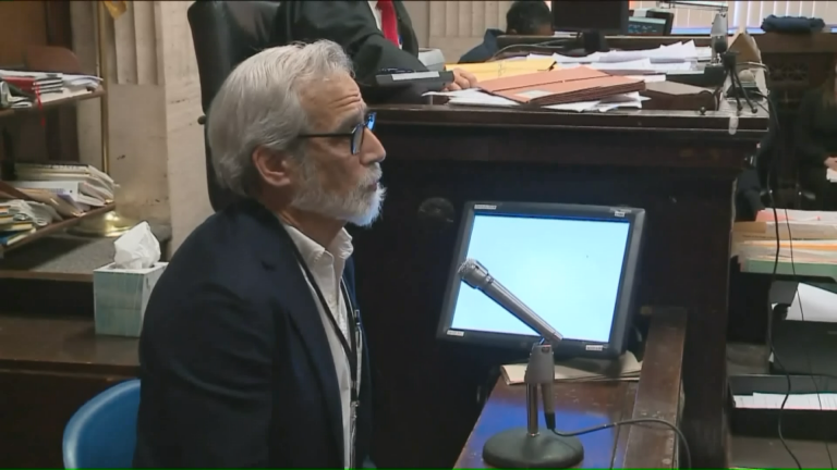 """""""I'm a writer, a journalist,"""" said Jamie Kalven in court Wednesday. (Courtesy of WGN)"""