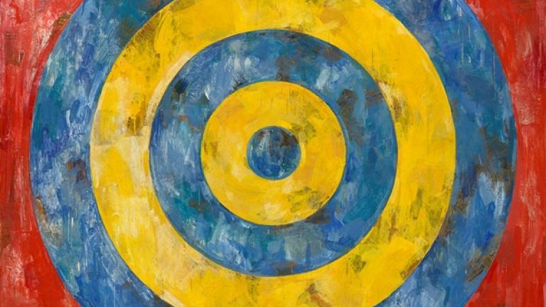 Jasper Johns. Target, 1961.