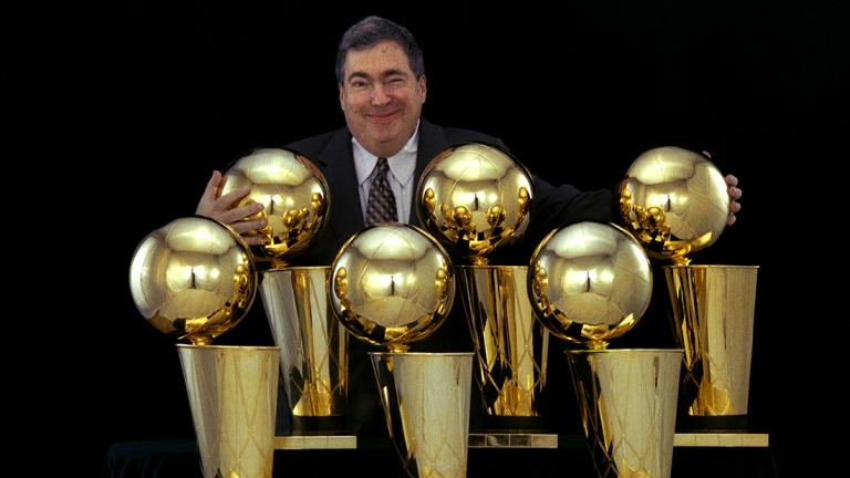Jerry Krause died Tuesday. He was 77 years old. (Courtesy of Chicago Bulls)