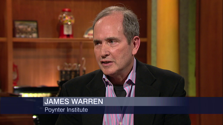 "James Warren on ""Chicago Tonight"""