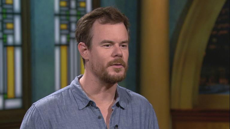 "Chicago-based writer and director Joe Swanberg appears on ""Chicago Tonight."""