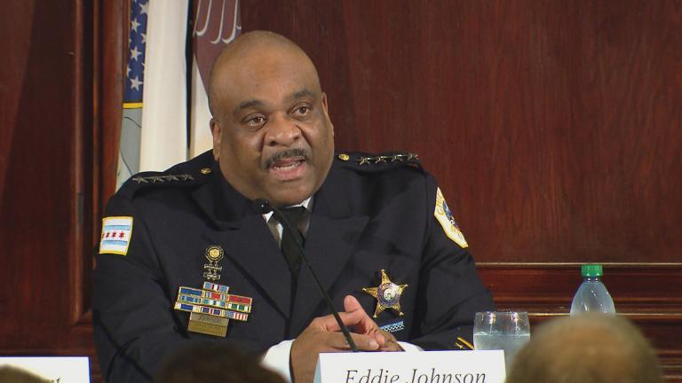 Eddie Johnson (Chicago Tonight)
