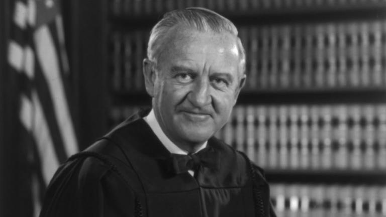 Justice John Paul Stevens' 1976 U.S. Supreme Court official portrait (Library of Congress)