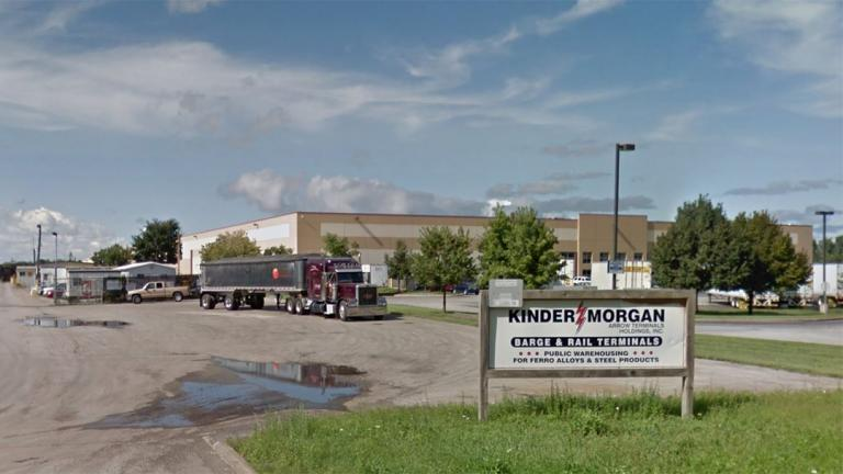 Kinder Morgan's former site at 2926 E. 126th St. in Chicago. (Google)