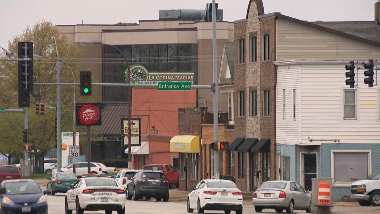 The city of Kankakee, Illinois. (WTTW News)