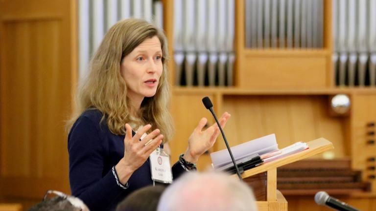 Karenna Gore, founder of the Center for Earth Ethics, will appear in Chicago next week as part of a forum on climate change. (Center for Earth Ethics / Facebook)