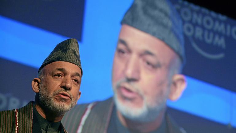 Afghanistan President Hamid Karzai; Image credit: World Economic Forum / flickr