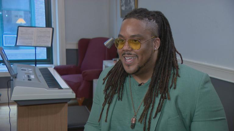 Chicago opera singer Keanon Kyles speaks with WTTW News.
