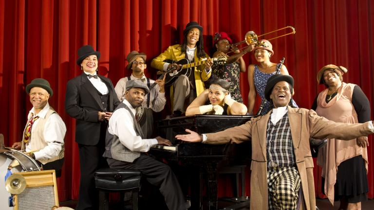 """Cast of """"Keep a Song in Your Soul: The Black Roots of Vaudeville."""""""