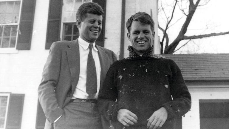 John F. Kennedy, left, and Robert F. Kennedy (Courtesy Kerry Kennedy)
