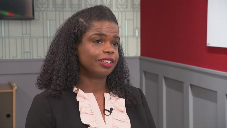 Cook County State's Attorney Kim Foxx speaks with WTTW News on Monday, Feb. 17, 2020.